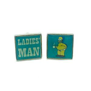 Ladies Man Cufflinks The Cufflink Club