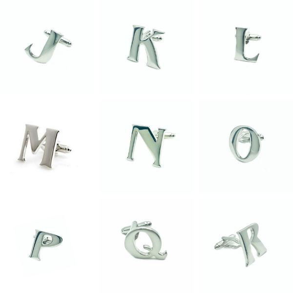 Alphabet Cufflinks Catergories