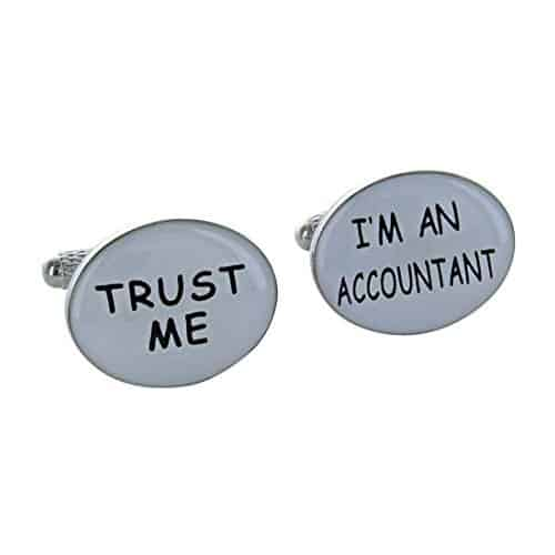 'Trust Me' 'I'm an Accountant' Cufflinks