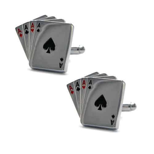 Ace Cards Cufflinks