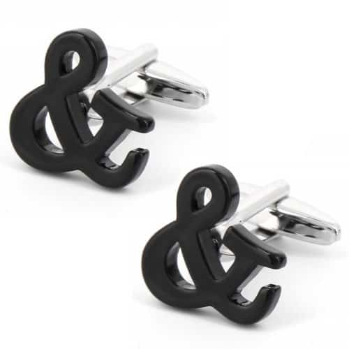 And Sign Cufflinks