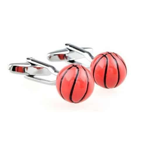 Basketball Ball Cufflinks