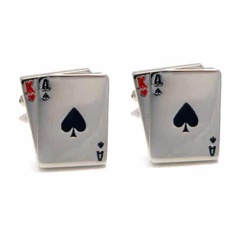 BlackJack Cards Cufflinks