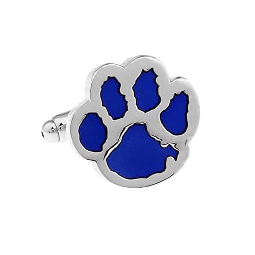 Blue Paw Cufflinks