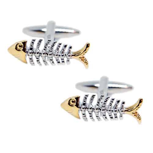 Boney Fish Cufflinks