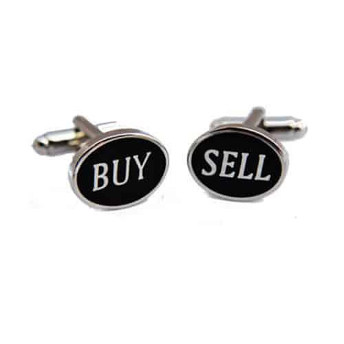 Buy Sell Cufflinks