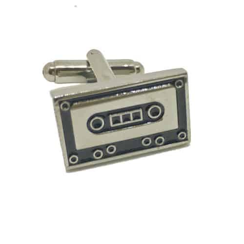 Cassettes Cufflinks