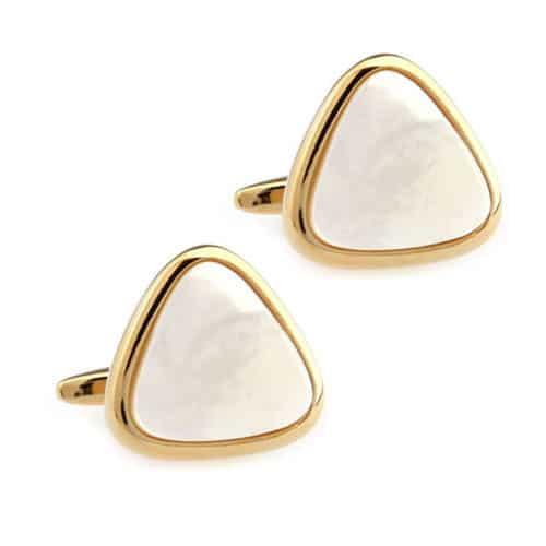 Gold Triangle Cufflinks