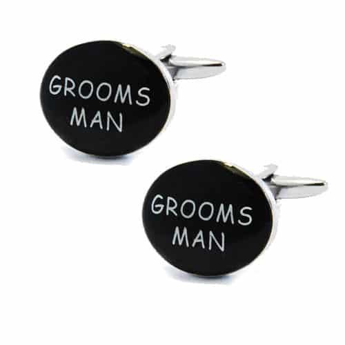 Grooms Man Cufflinks