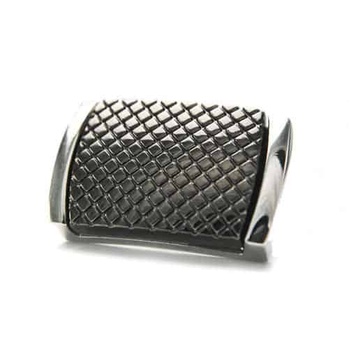 Gunmetal Chequered Cufflinks
