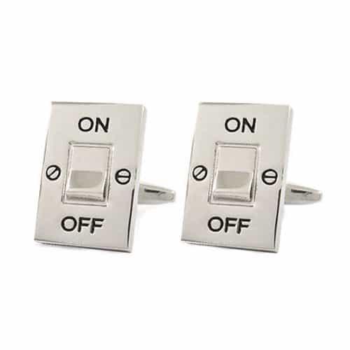 Light Switch Cufflinks