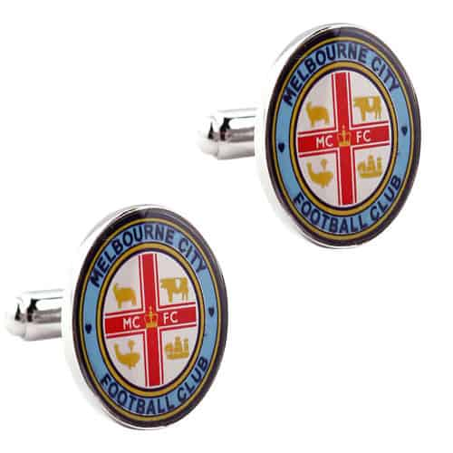 Melbourne City Official A League Cufflinks