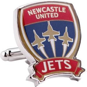 Newcastle Jets Official A League Cufflinks