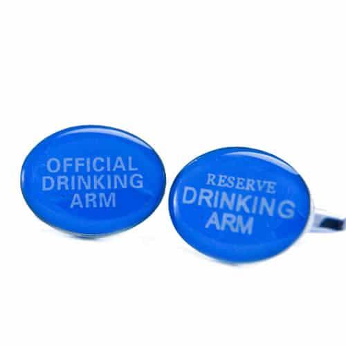Official Drinking Arm Cufflinks
