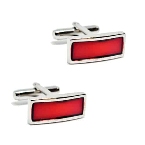 Red Bar Cufflinks