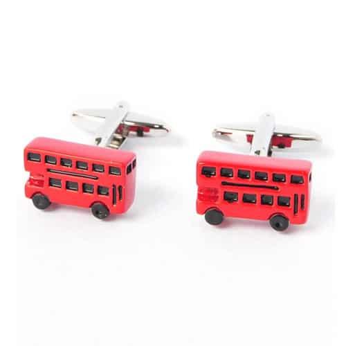 London Bus Cufflinks