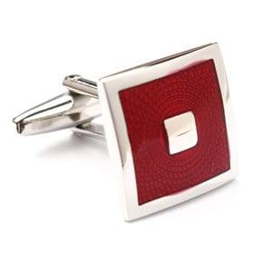 Red Square Cufflinks
