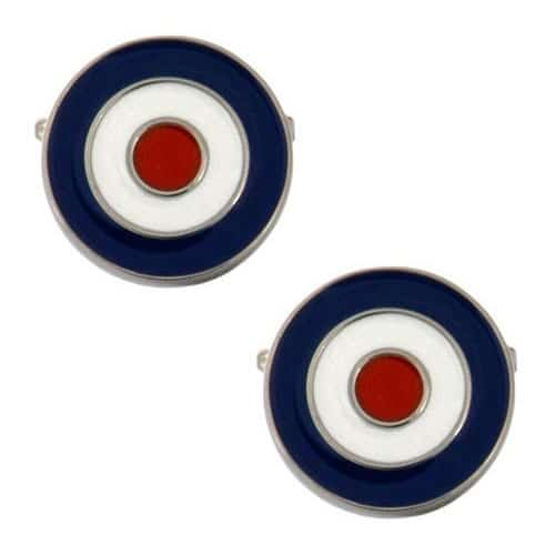 Round Target Cufflinks