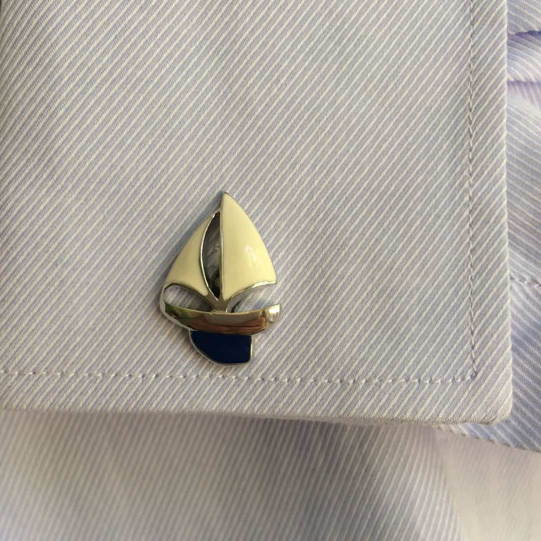 Sail Boat Cufflinks