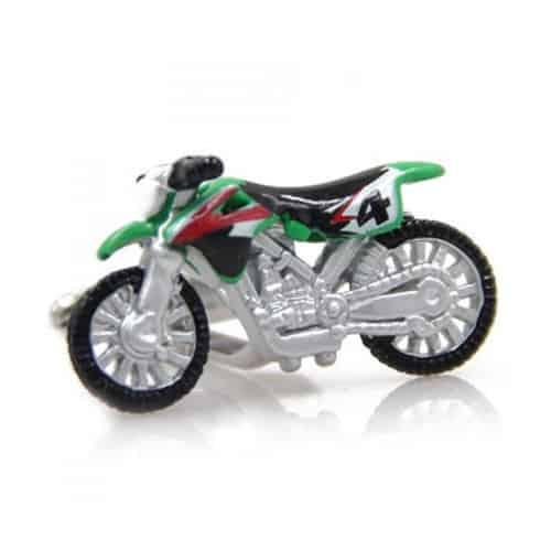 Scrambling Motorbike Cufflinks