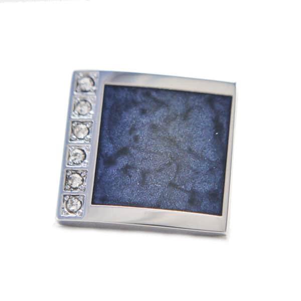 Silver Marble Cufflinks