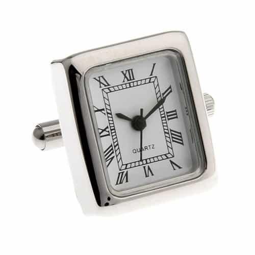 Square Watch (working) Cufflinks