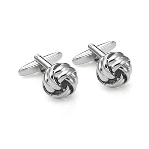 Stainless Steel Knot Cufflinks