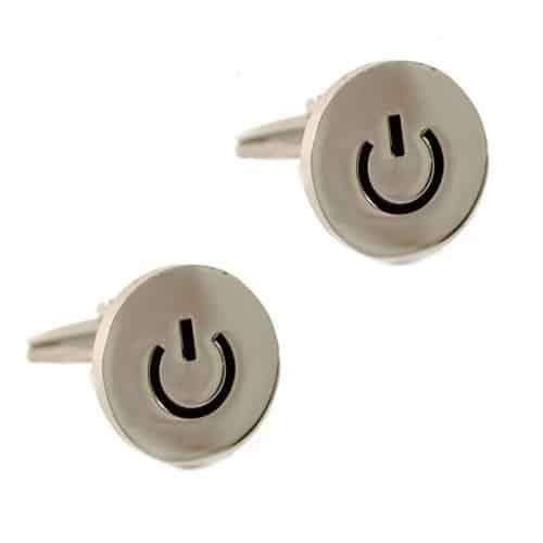 Standby Button Cufflinks