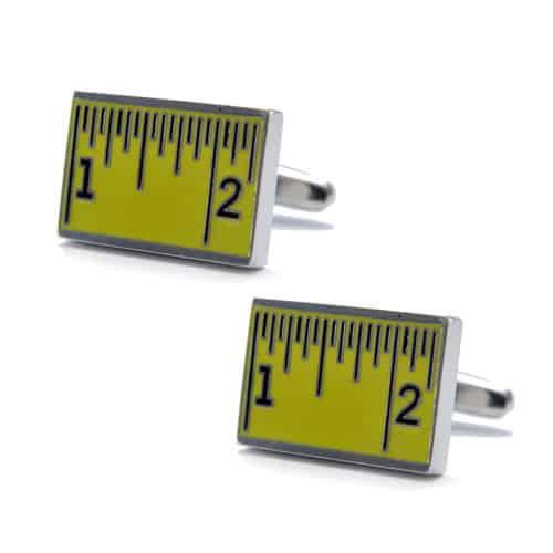 Tape Measure Cufflinks