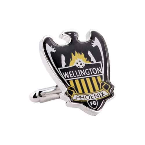 Wellington Pheonix Official A League Cufflinks