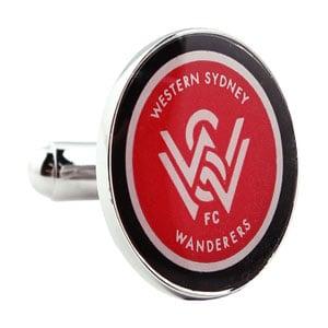 Western Sydney Wanderers Official A League Cufflinks