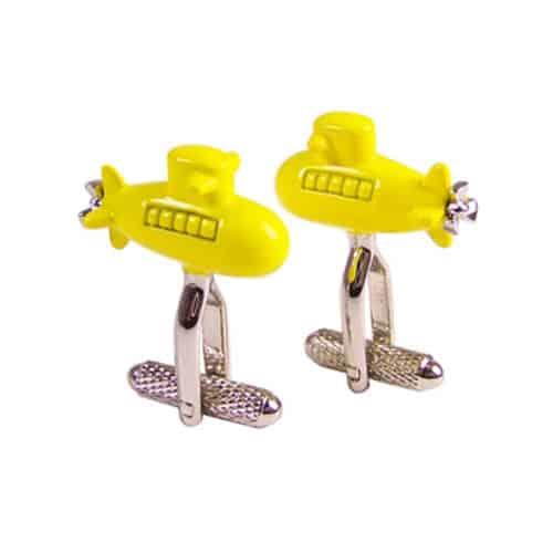 Yellow Submarine Cufflinks