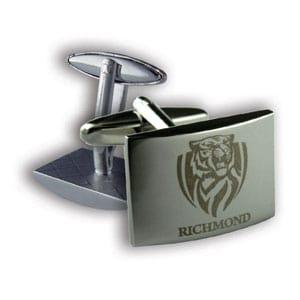 Richmond Silver Official AFL Cufflinks