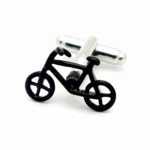 Black Bike Cufflinks