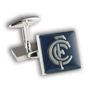 Carlton Colour Official AFL Cufflinks