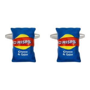 Chips/Crisps Cufflinks