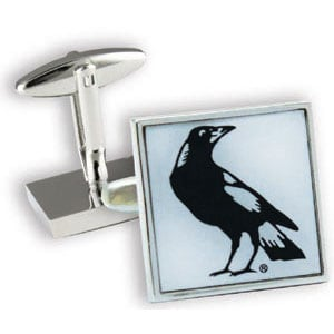 Collingwood Magpies Official AFL Cufflinks