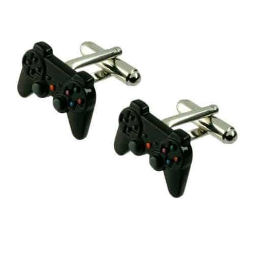 Black Playstation Cufflinks