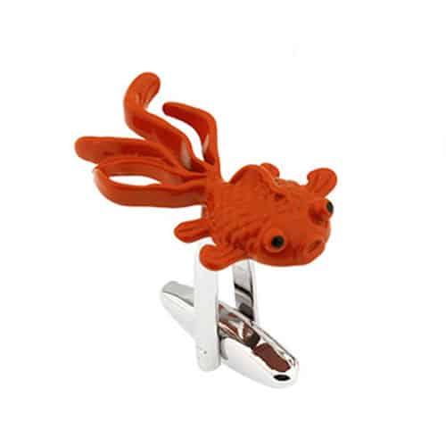GoldFish Cufflinks