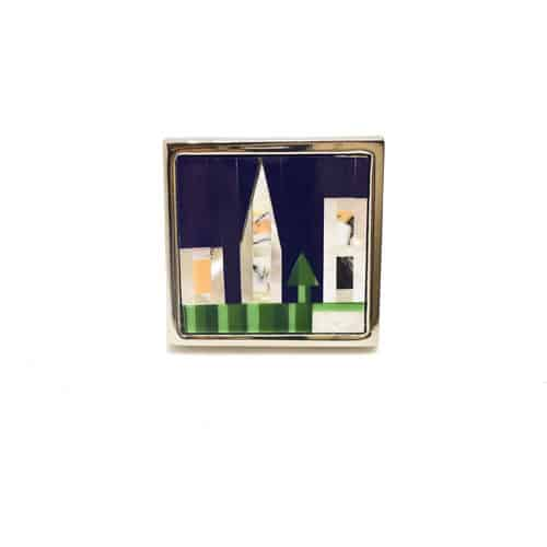 Mother of Pearl - Town Cufflinks