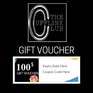 Gift Voucher The Cufflink Club